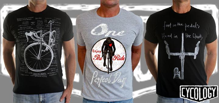Cycology - op de fiets en het fietsen geïnspireerde vrijetijdskleding