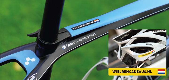 Je eigen naam op je fiets met Pro Bike Sticker