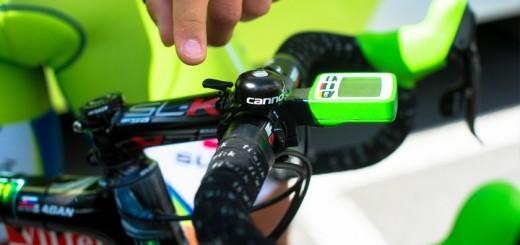 Zelfs Peter Sagan heeft een bel op zijn fiets.