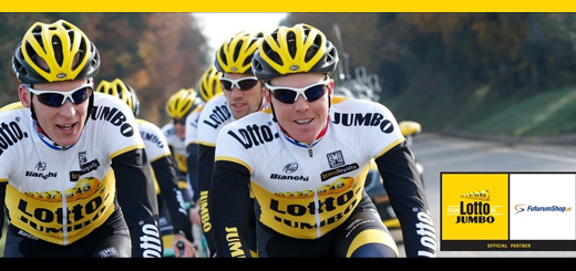 Fiets als de renners Team LottoNL-Jumbo