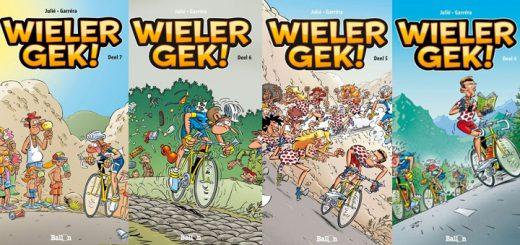 Wielergek stripboeken