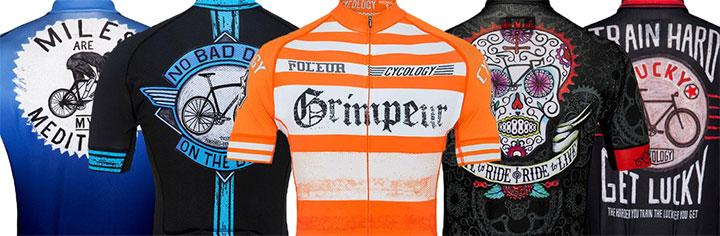 Cycology wielershirts en fietskleding - uniek en onderscheidend