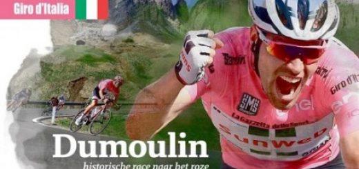 Dumoulin, historische race naar het roze
