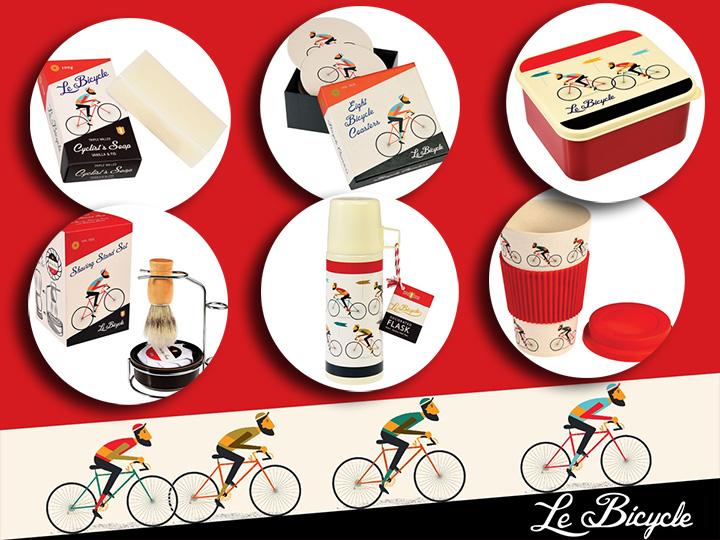 Leuke Sinterklaas en Kerstcadeaus van Le Bicycle