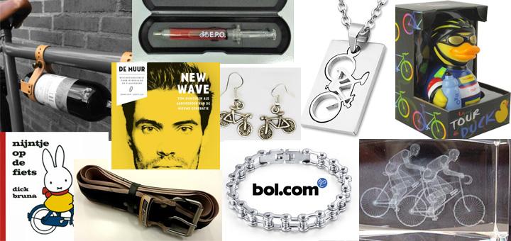 10 fietscadeaus bij Bol.com