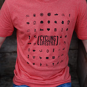 Cycling Lifestyle Giro editie T-shirt