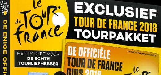 Het officiële Tour de France Pakket 2018