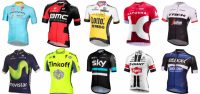 De teams en wielershirts uit de Tour de France 2016