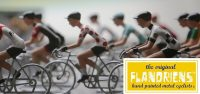 Flandriens miniatuur wielrenners